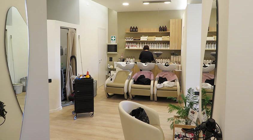 11-5 Ristrutturazione salone parrucchiera - Marco Rettore